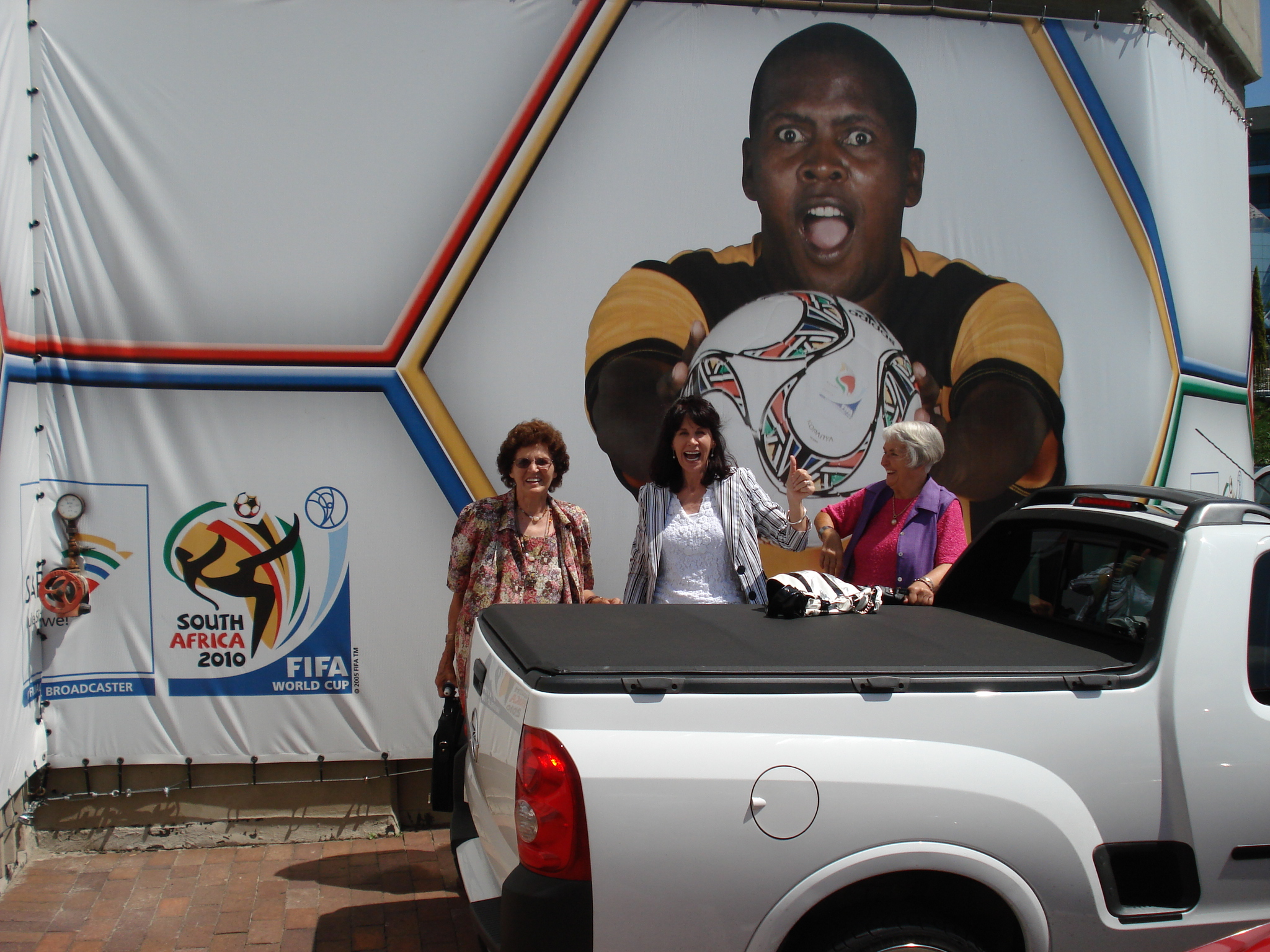 At the SABC during the WorldCup in 2010